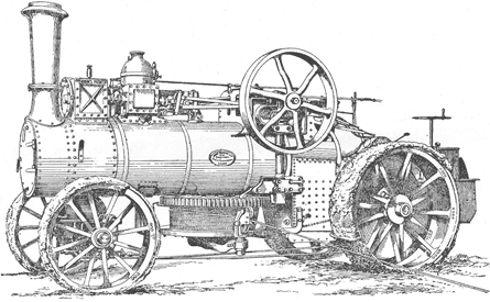 Edwin J. Goode Patent Ploughing Engine